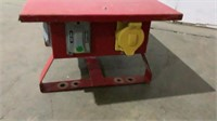 PTS Temporary Power Box-