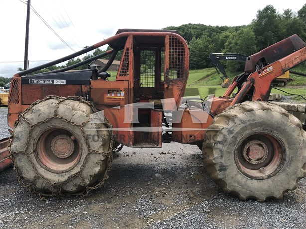 TIMBERJACK 240A Skidders Logging Equipment For Sale - 5 Listings