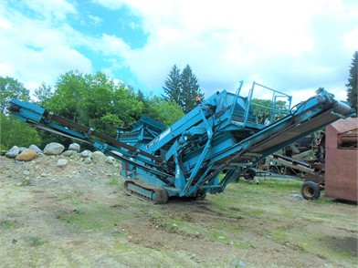 POWERSCREEN CHIEFTAIN For Sale - 129 Listings | MachineryTrader com