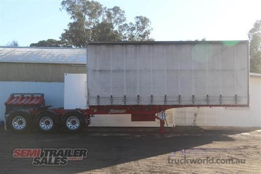 2008 Vawdrey 12 Pallet A Curtainsider Semi - Trailers for Sale