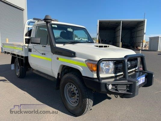2017 Toyota Landcruiser Workmate 4x4 South West Isuzu - Light Commercial for Sale