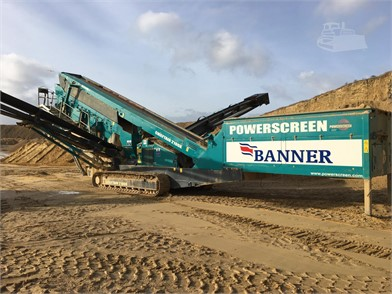 POWERSCREEN CHIEFTAIN 2100X For Sale - 13 Listings | MachineryTrader