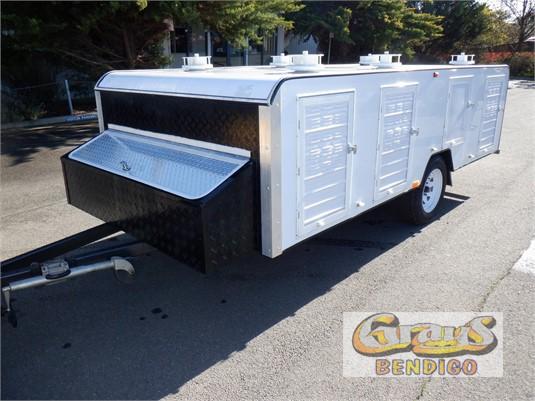 2019 Custom Tri Axle Pig Trailer Grays Bendigo - Trailers for Sale