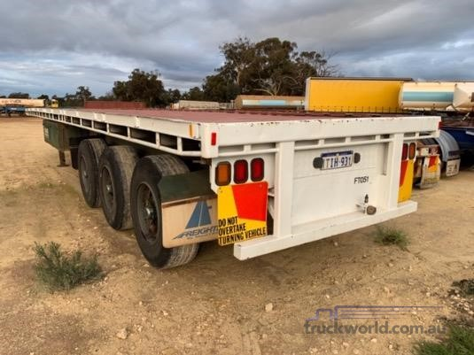 1985 Freighter Flat Top Trailer - Truckworld.com.au - Trailers for Sale