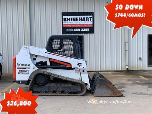 Used Track Skid Steers For Sale By Rhinehart Equipment - 9