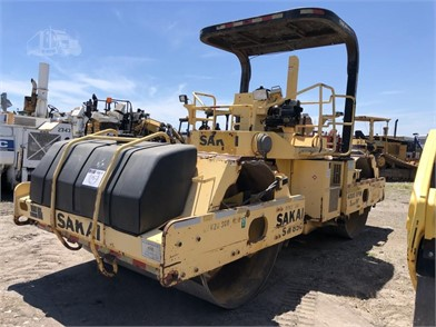 2007 SAKAI SW850 80 INCH VIBRATORY TANDEM ROLLER Other Items