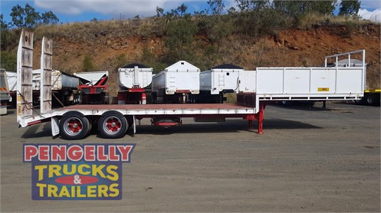 2004 Custom Drop Deck Trailer Pengelly Truck & Trailer Sales & Service - Trailers for Sale
