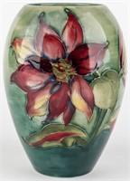 Moorcroft Clematis Flower Vase