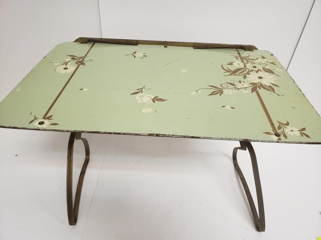 Antique Breakfast Tray Toodle Loo