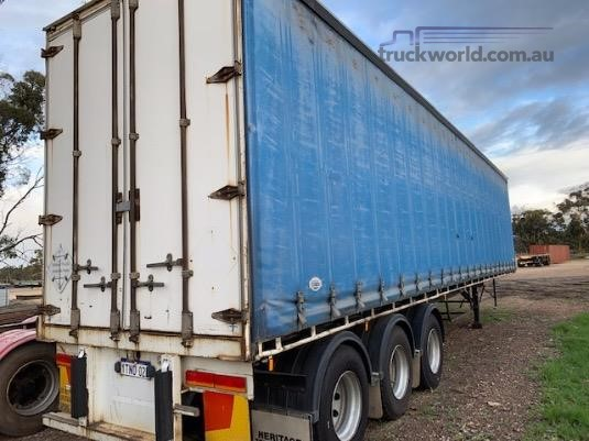1999 Freighter 45ft Curtainsider Trailer - Trailers for Sale