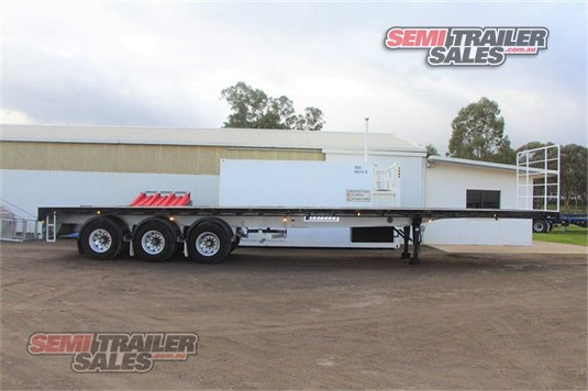 2017 Krueger 44FT 4 INCH FLAT TOP SEMI TRAILER Semi Trailer Sales - Trailers for Sale