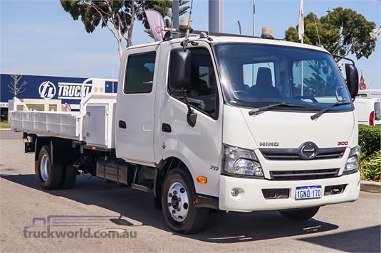 2016 Hino 300 Series 717 Crew Trucks for Sale