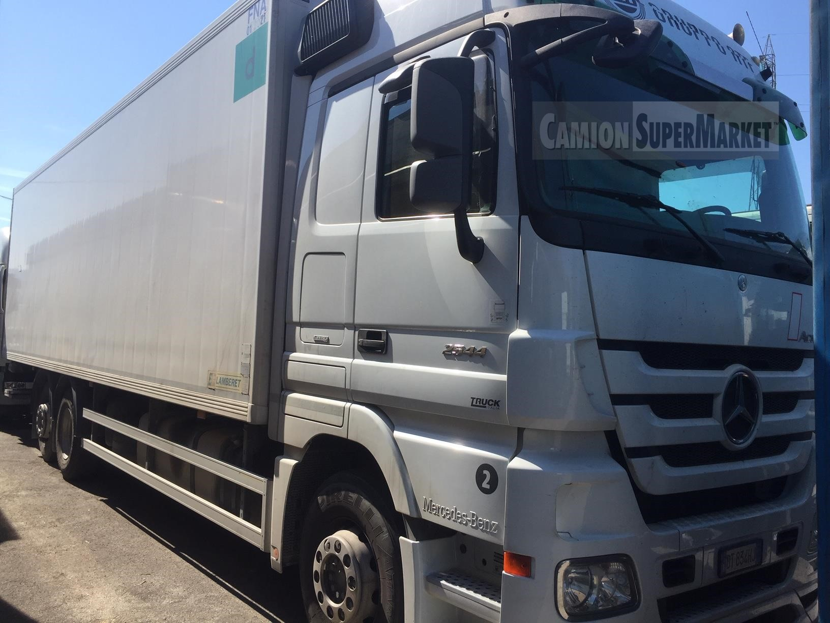 Mercedes-Benz ACTROS 2544 used