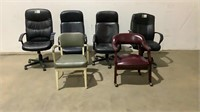(qty - 6) Office Chairs-
