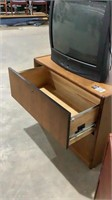 Lateral Filing Cabinets & TV-