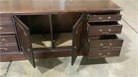 Desk & Credenza-