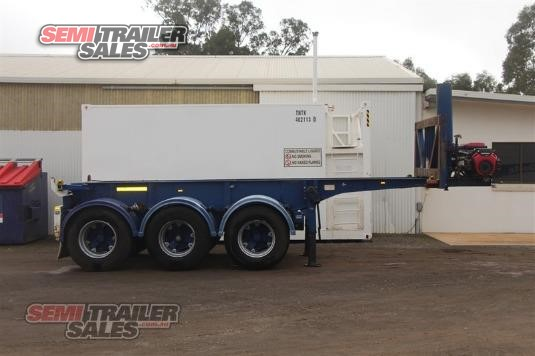 2003 Barker Tipping Skel Trailer Semi Trailer Sales - Trailers for Sale