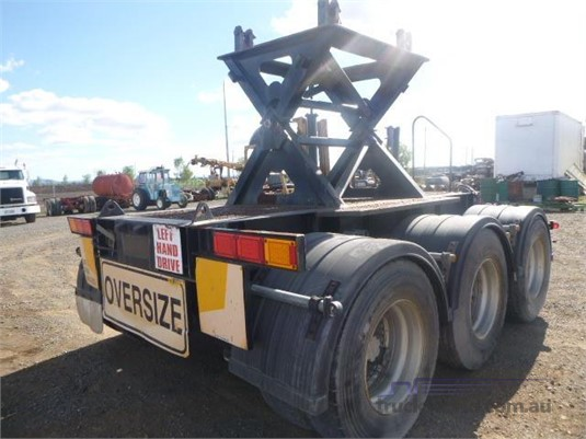 2003 Maxi Cube Suspension Chassis Cut Western Traders 87 - Trailers for Sale