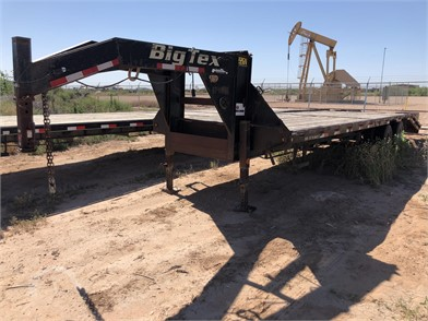 Flatbed Trailers Online Auctions - 46 Listings | AuctionTime