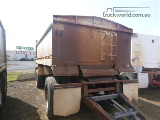 2006 Neil Mansell Tipper Trailer Western Traders 87 - Trailers for Sale