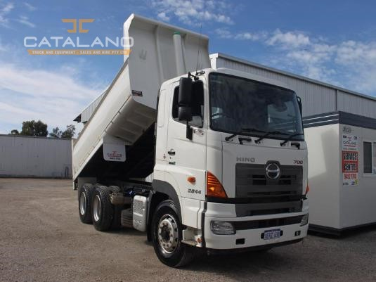 2015 Hino 700 Series Catalano Truck And Equipment Sales And Hire  - Trucks for Sale