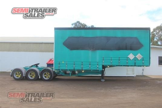 2004 Maxitrans 12 Pallet Curtainsider Semi A Semi Trailer Sales - Trailers for Sale