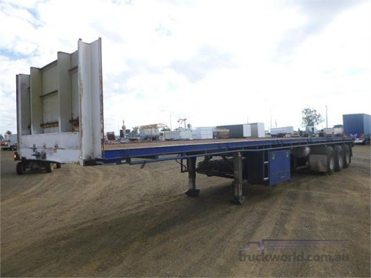 2009 Maxitrans Flat Top Trailer - Trailers for Sale