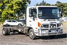 2014 Hino 500 Series 1124 FD Cab Chassis