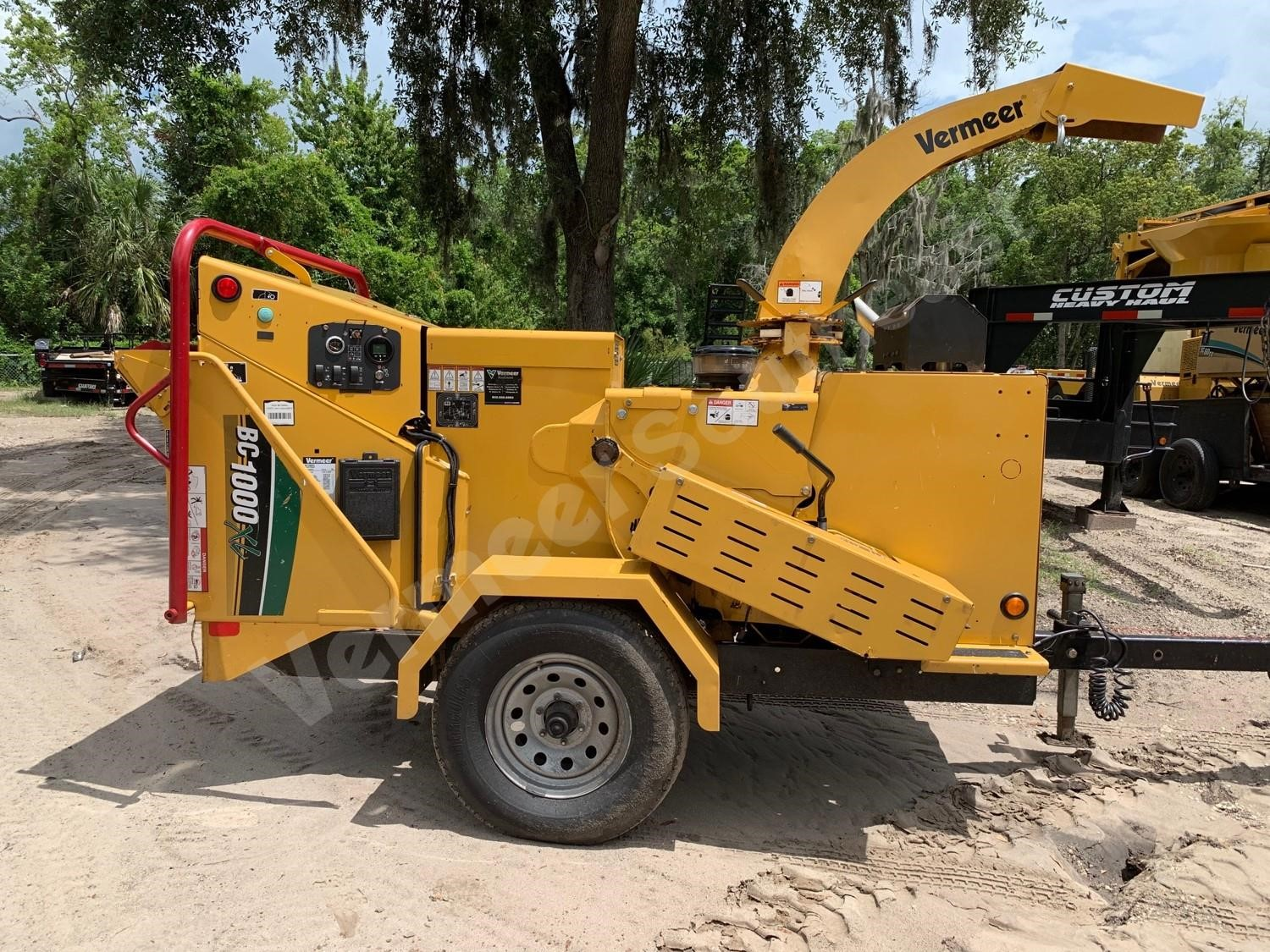 2016 VERMEER BC1000XL For Sale in Orlando, Florida
