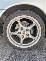 2002 Grey Porsche 911 Targa 2dr Coupe, 6-cyl