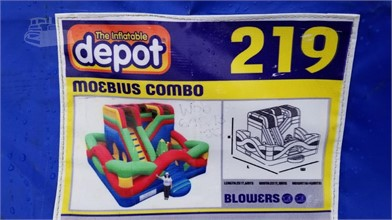 INFLATABLE DEPOT MOEBIUS BOUNCE HOUSE Other Auction Results