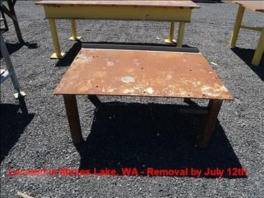 Steel Table Other Auction Results - 7 Listings