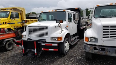 2000 International 4700 Crew Cab Dump Truck Other Auction