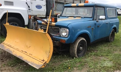 1969 International Scout With Plow Other Auction Results In