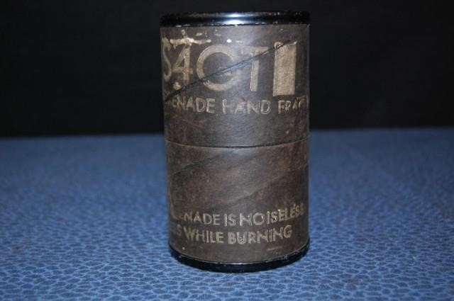 S A GT GRENADE HAND FRAG M26 W/FUSE M204A1 | Cady Auction & Appraisal