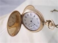 Waltham 15 Jewel 14k Pocket Watch