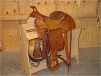 Tex Tan Hereford Brand Saddle