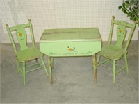 Mary-Lu Childs Table & Chair Play Set
