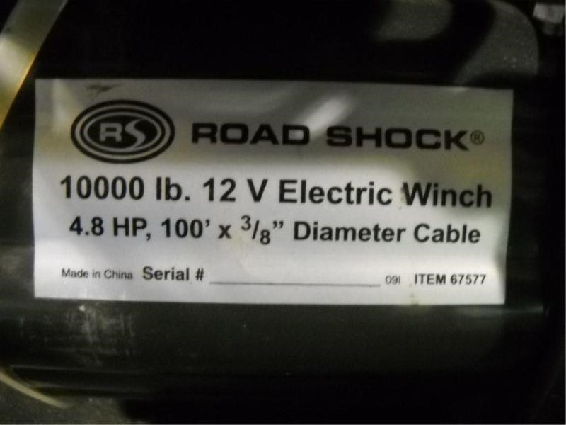 road shock 1000 lb electric winch | HiBid Auctions