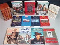 16 Louis Lamour Books- Sacketts, Poetry, Biography