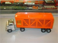 Structo Toy Cattle Truck & Trailer