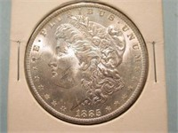 1885 Mint  Morgan Silver Dollar