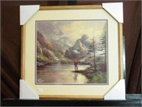 5 Thomas Kinkade Framed Pictures