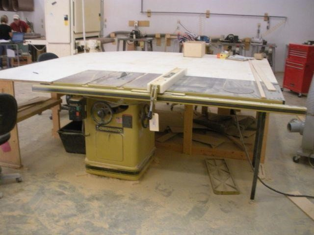 Powermatic Industrial Table Saw Mod 66-TASAW,   Indiana Real