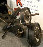 Weider Barbell Tree Stand with Weights
