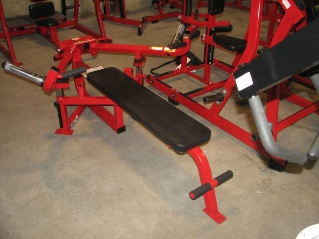 Cybex Advanced Chest Bench Press Plate Loaded Auction