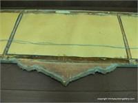Tri Pane Nurre Mantle Sofa Mirror Antique Asset