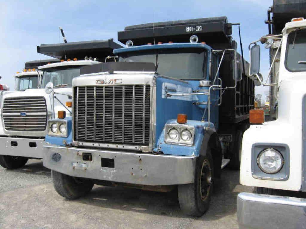 1979 Gmc General Tri Axle Dump Truck Ritchason Auctioneers Inc