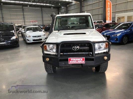 2008 Toyota Landcruiser V8 Turbo Diesel - Truckworld.com.au - Light Commercial for Sale