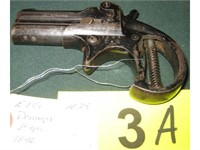 Gun EIG Double Barrel Derringer in 38 Special   AZFirearms com/Pot